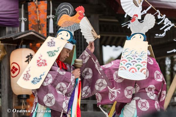 松前神楽合同公演 2016 二羽散米舞