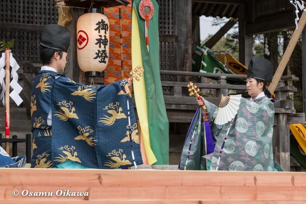 松前神楽合同公演 2016 利生舞