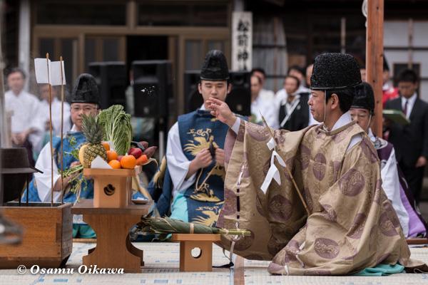 松前神楽合同公演 2016 鎮釜湯立式