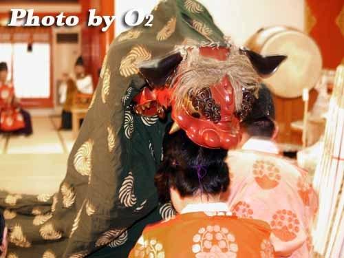 平成20年 江差町 八大龍王神 神楽舞 獅子舞