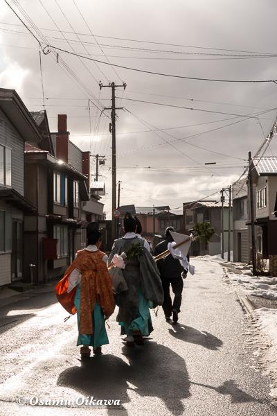 平成30年 松前町 清部八幡神社 門祓い 行列