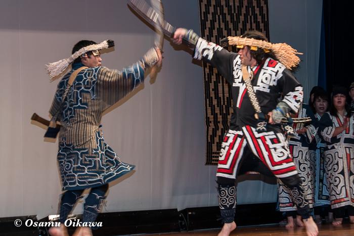 平成30年 平取町 第29回シシリムカアイヌ文化祭 アイヌ古式舞踊 エムシリムセ