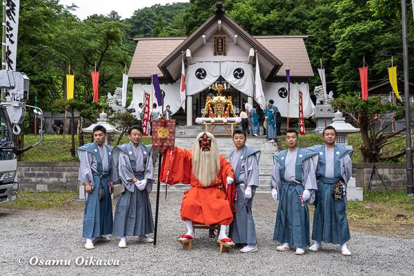 平成30年 古平町 琴平神社 例大祭 宵宮祭 猿田彦 世話