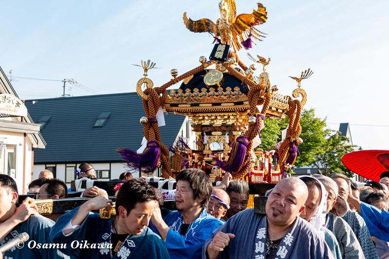 平成30年 美瑛町 美瑛神社渡御祭 駅周辺 神輿渡御03