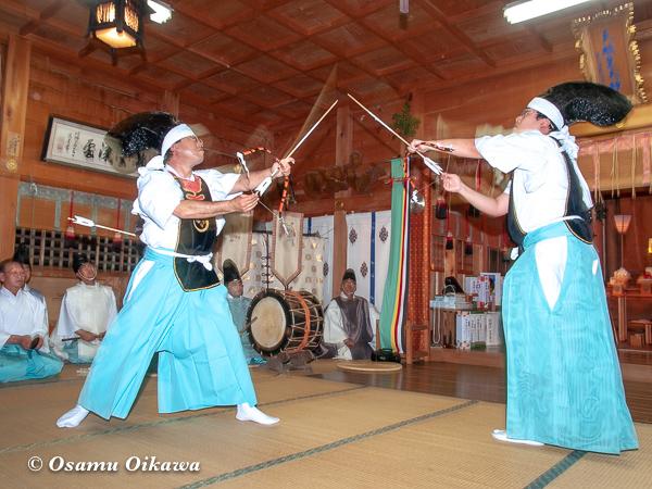 福島大神宮 神遊舞 宵宮 2005