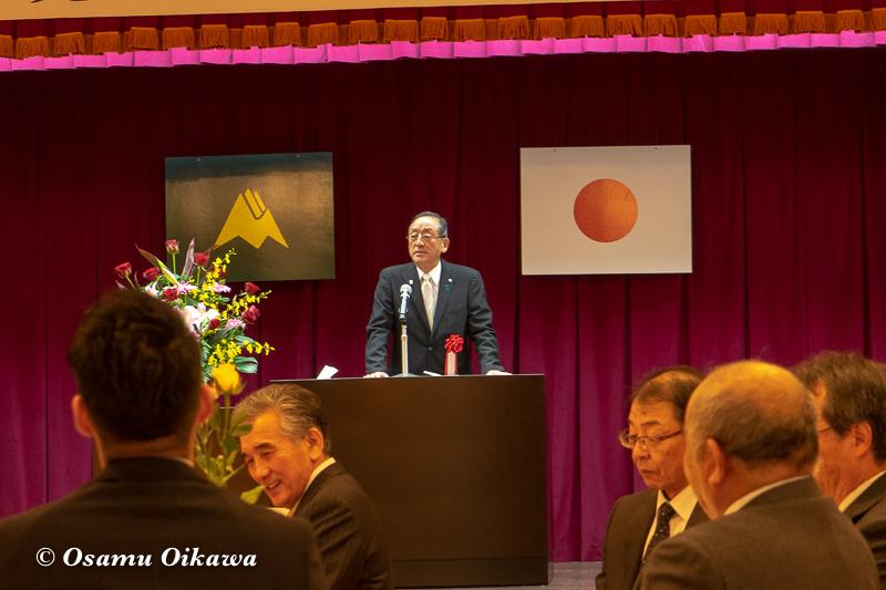 平成30年 美瑛町 那智美瑛火祭り 30周年記念式典 宮司挨拶