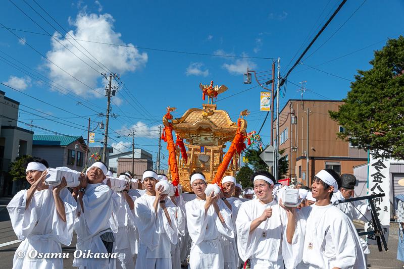 平成30年 今金町 今金八幡神社渡御祭 神輿