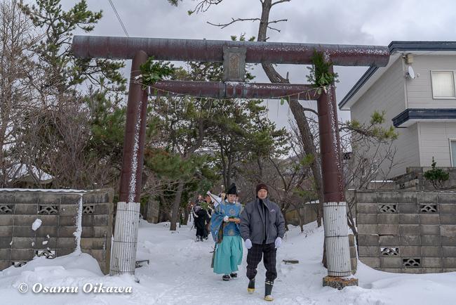 平成31年 松前町 清部八幡神社 新春門祓い02