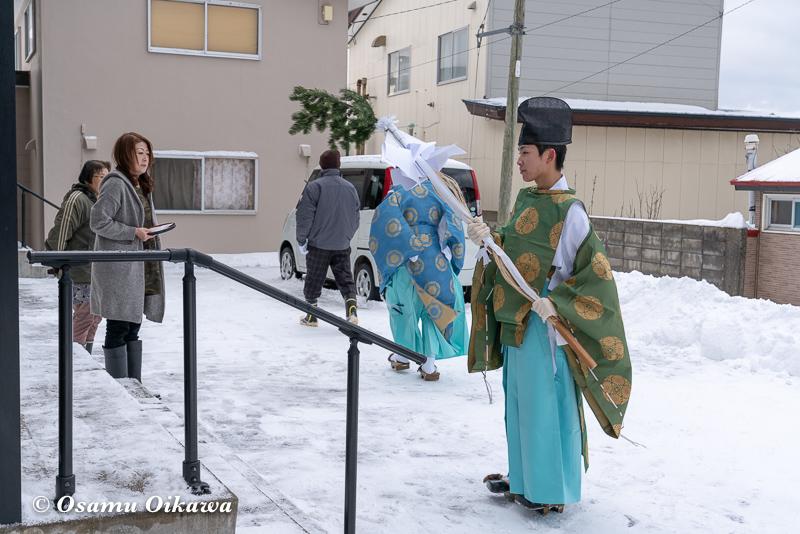 平成31年 松前町 清部八幡神社 新春門祓い06
