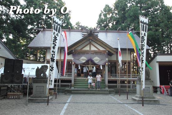 意冨比神社 宵宮祭 平成23年