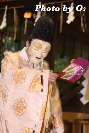 平成21年 函館市 高穂神社例祭 松前神楽 翁舞