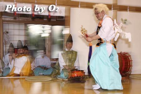 平成21年 函館市 高穂神社例祭 松前神楽 荒馬舞