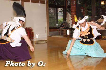 平成21年 函館市 高穂神社例祭 松前神楽 神遊舞
