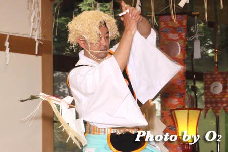 平成21年 函館市 高穂神社例祭 松前神楽 山神舞