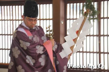 平成22年 北斗市 矢不来天満宮 春の祈年祭 松前神楽 榊舞